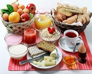 Bohatá snídaně