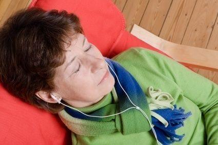 Spánek, žena