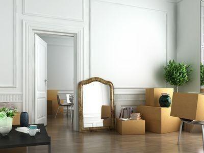 stěhování do nového bytu
