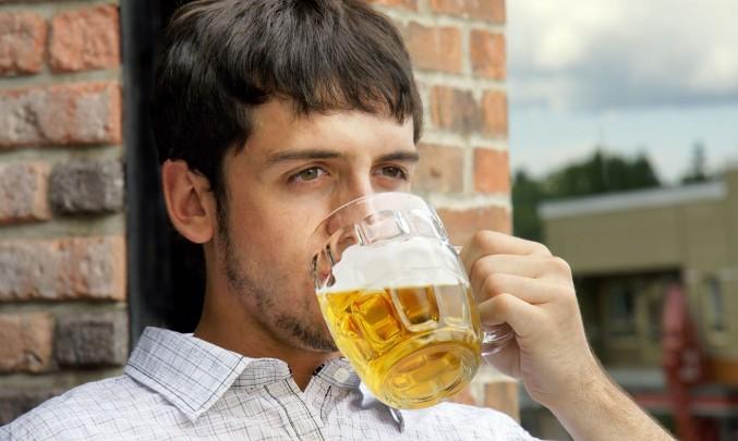 pití piva