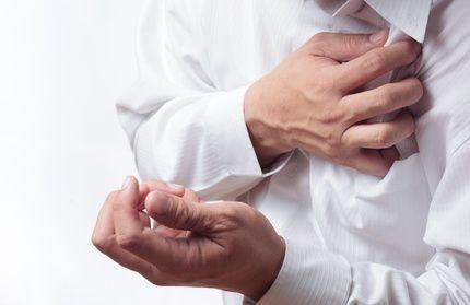 infarkt, bolest na hrudi