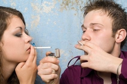 Mladí kuřáci