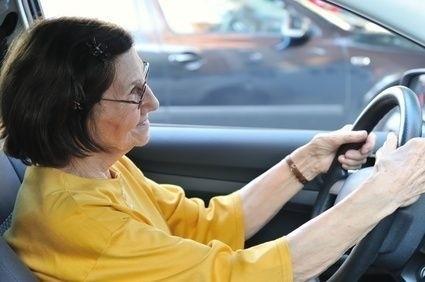 Řidička seniorka