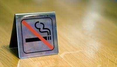 cedulka zákaz kouření