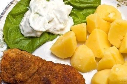 Řízek s bramborem