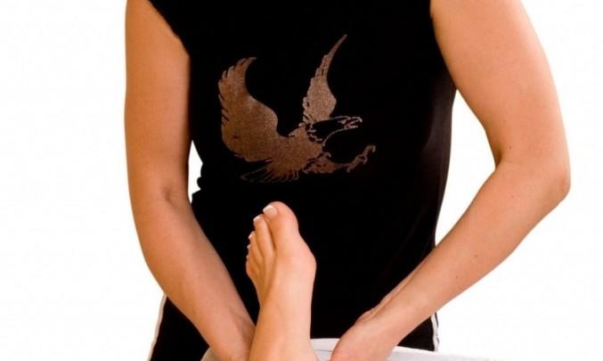 Masáž nohou,relax,žena- z HPV