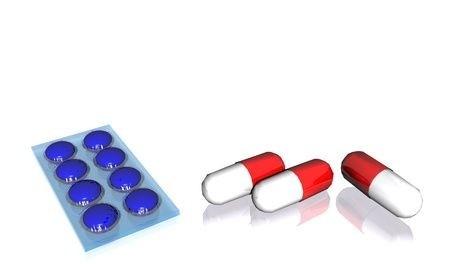 Léky, tablety,blistry,kapsle