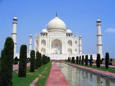 indie asie taj-mahal cestování