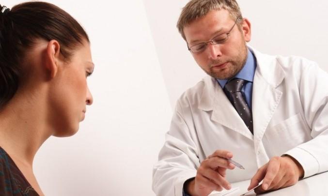 Dialog,rozhovor,lékař, pacientka, žena