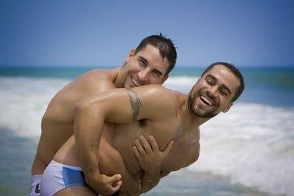 Dva muži, AIDS, gay,homosexuál