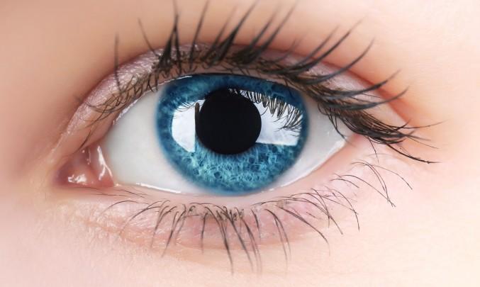 jedno krásné modré oko