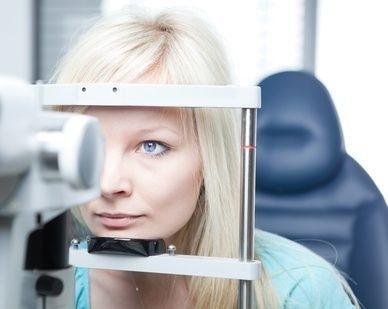 vyšetření očí