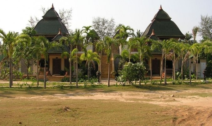chatrč, thajsko, exotika