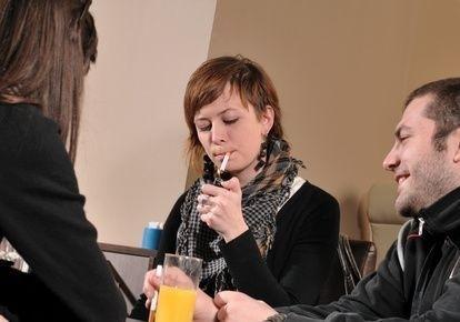 Kouření v baru