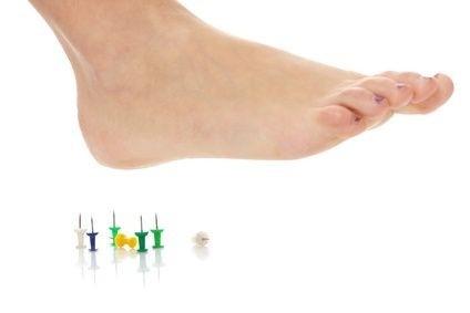 bodnutí nohy
