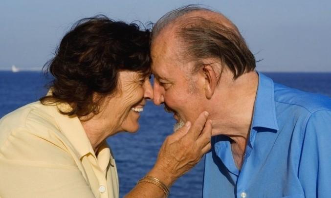 dědeček, babička, stáří, zdraví, partnerství, láska