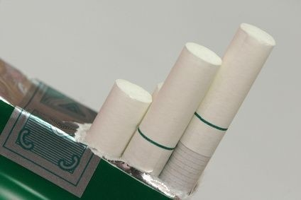 Mentholová cigareta