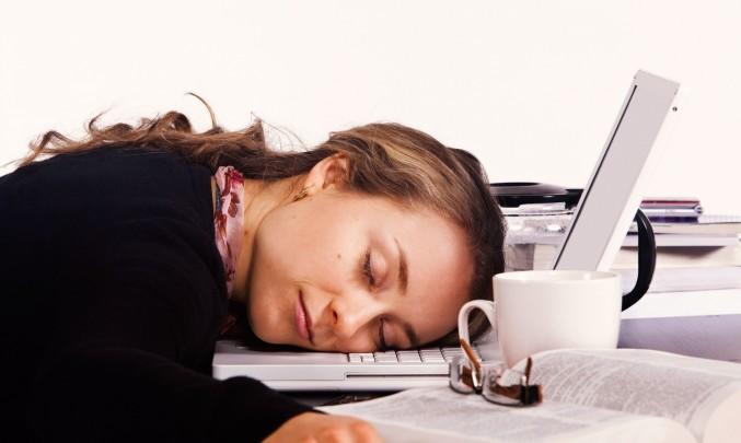 únava v kanceláři