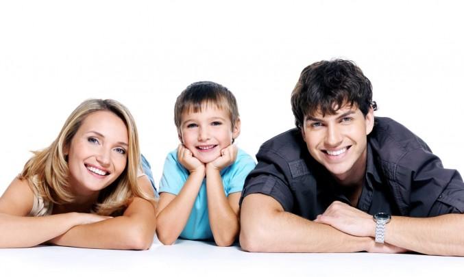 rodina s jedním dítětem