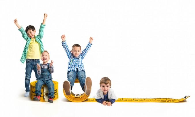 deti,metr,vyska,rust,radost