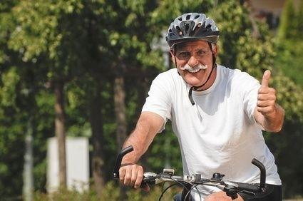 senior na kole