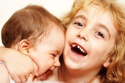 Děti, mentální postižení, zuby,sourozenci
