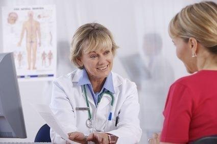 Rozhovor lékařky s pacientkou