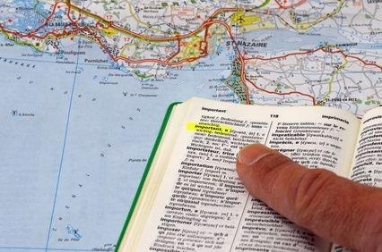 mapa a cizojazyčný slovník