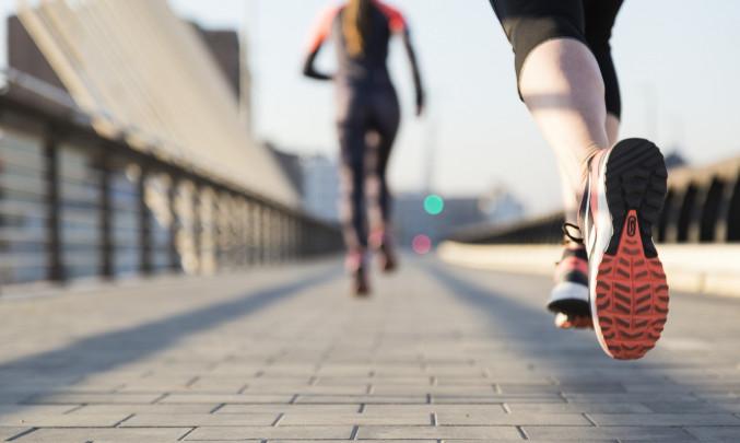 běh, sport