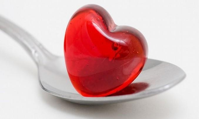 Srdce na lžičce