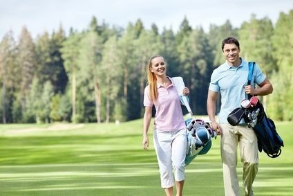 pár na golfu