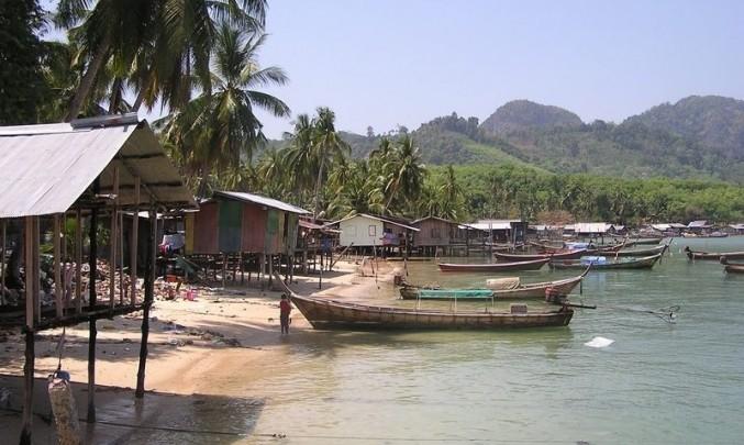přístav, moře, rybář