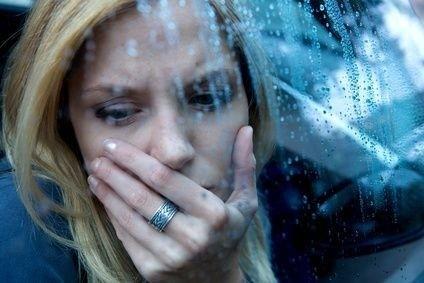 depresivní žena_smutek