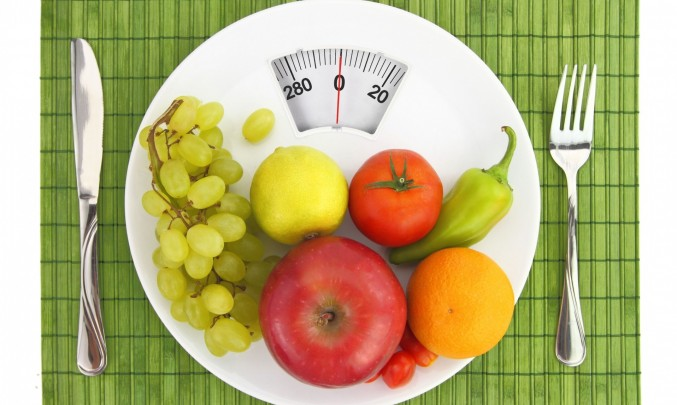 ovoce a zelenina na váze