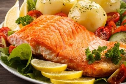 losos, ryba, dieta