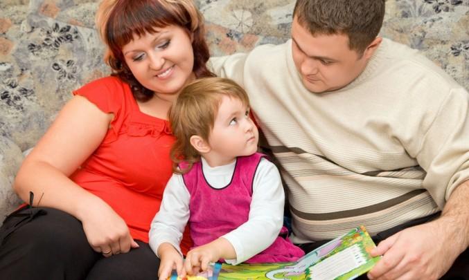 obézní rodina