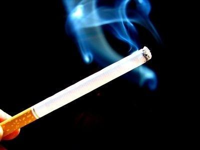 cigareta, kouření, dým