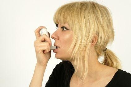 Astma u ženy