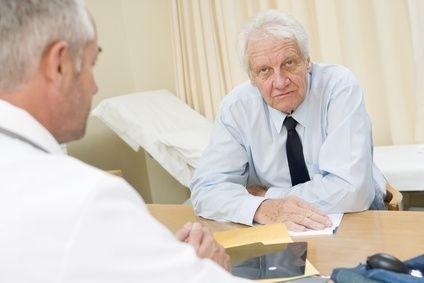 Lékař a senior