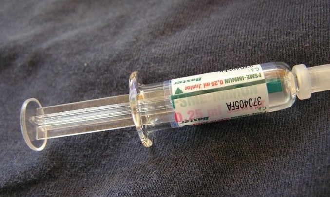 očkování, očkovací látka,injekce, prevence