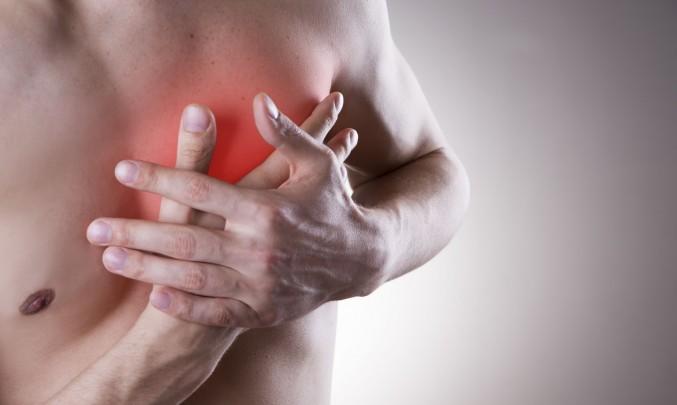 infarktová bolest