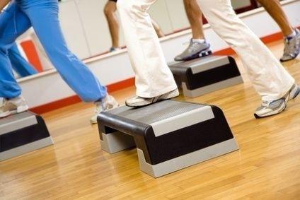 Cvičení,pohyb,aerobic,žena,sport
