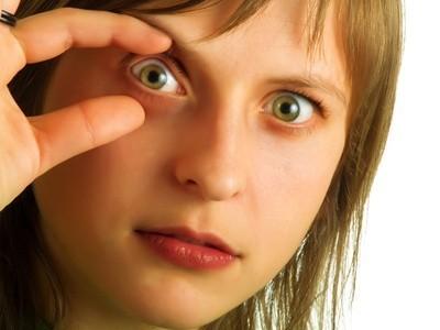 rozevřené oko