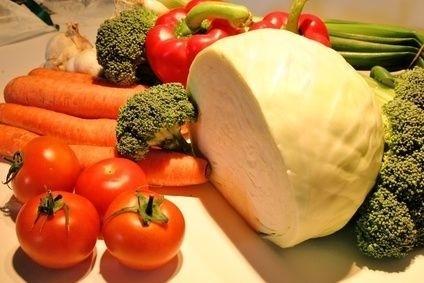 Zelenina, mrkev, celer brokolice, antioxidanty