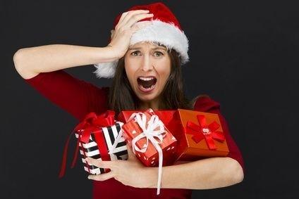 vanoce, dárky, stres