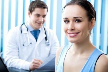 Pacientka u doktora
