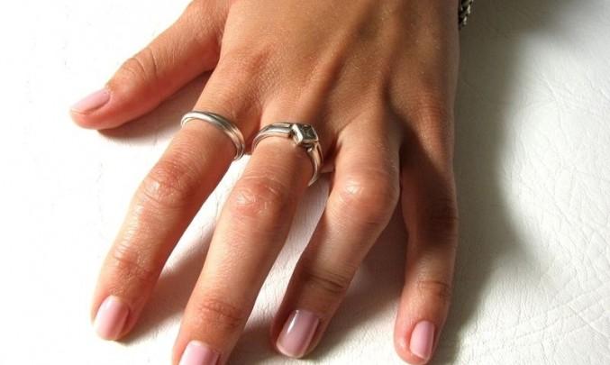 ruka, prst, nehet, žena, prsten