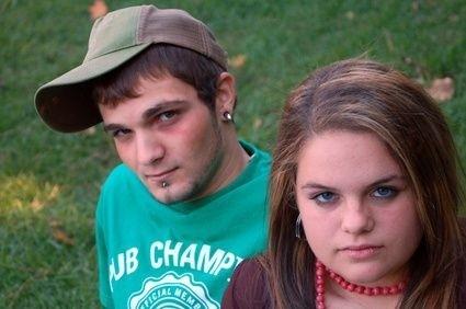 Dospívající dvojice