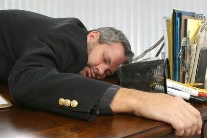 Spánek, manažer, vyřerpání, stres