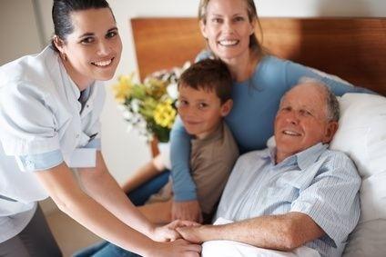 lažící pacient, péče, rodina